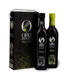 1.Neapstrādāta ekstra olīveļļa Oro Bailen, reserva familiar, Estuche