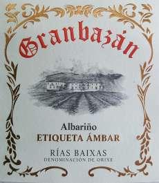 Baltvīns Granbazan Etiqueta Ambar