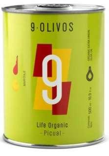 Olīveļļa 9-Olivos, picual
