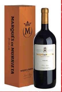 Sarkanvīns Marqués de Murrieta  en caja de cartón (Magnum)