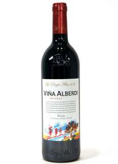 Sarkanvīns Viña Alberdi