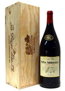 Sarkanvīns Viña Ardanza  en caja de madera (Magnum)